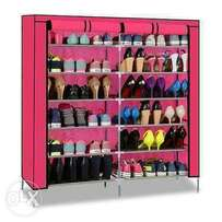 Shoe Rack Portable. Holds 36 Pairs.