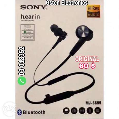 Sony headset Harmon original with canceling noise high quality
