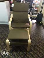 Lounge chair w/foot rest,ex UK