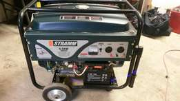 5.5 kw electric start generator (new)