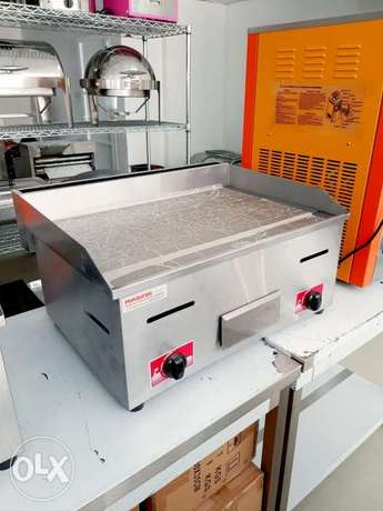 Gas and Electric Griddle - Hot Plate
