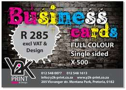 Affordable print & design for you're Business