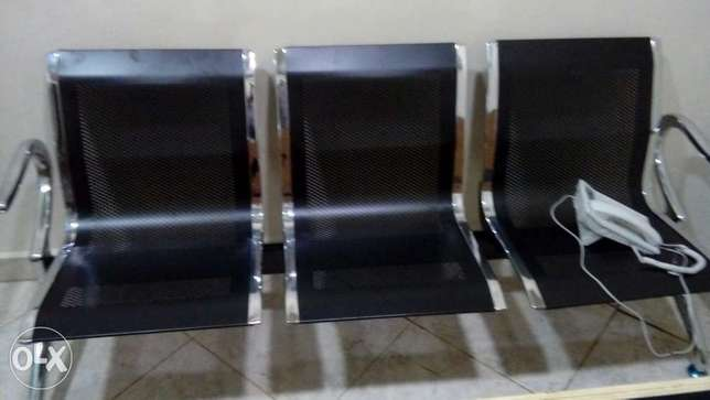 Quality New 3in 1 Airport Chair Ajah - image 1