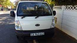 PRICE REDUCED 2011 Kia K2700 bakkie with canopy