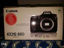 Canon 80D + Card - all New condition