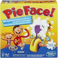 Toy Hasbro Rocket Gaming Pie Face Game In Hand Kids Gift