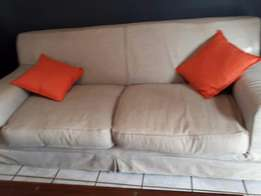 Coricraft 2 seater couch less then a year old for sale