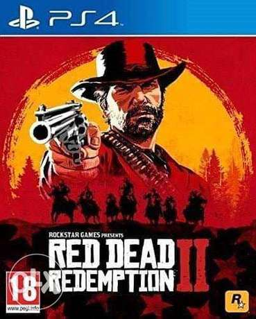 PS4 Red Dead Redemption II Game خلدة -  1