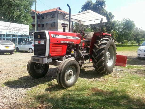 Massey Fugerson 375 tractor plus plow 2016 model.buy on hire-purchase! Lavington - image 3
