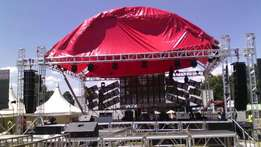 Stage & Trussing services