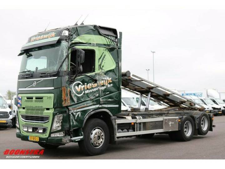 Volvo FH 500 Globetrotter 6X2 Aut. NCH 24t. Euro 6 - 2014