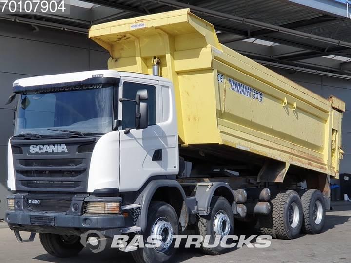 Scania G400 8X4 Manual 26m3 Big-Axle Steelsuspension Euro 5 - 2015