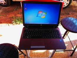 HP laptop nearly new