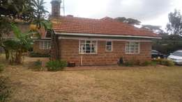 4 bedroom bungalow on a quarter acre to let in Ngong