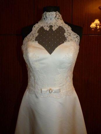 3efc533399 Nowa Śliczna suknia ślubna Pleszew - image 1