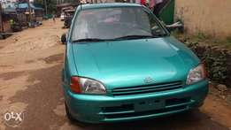 Toyota starlet, manual gear,tokunbo