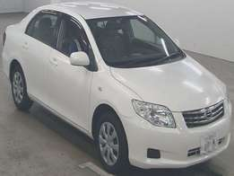 Foreign Used Toyota Axio 2010 White For Sale Asking Price - 1,250,000t
