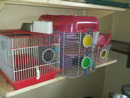 Hamster or mouse cage also old fish tank