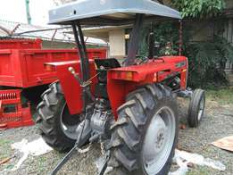 Brand new MF 240 with free disc plough.