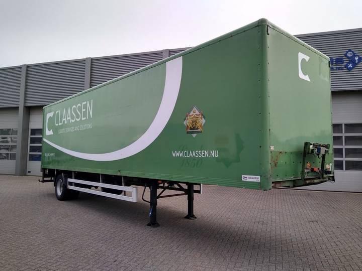 Pacton Citytrailer / Boxtrailer / Loadlift / APK-TUV - 2002