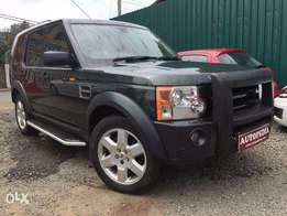Landrover Discovery III, Dark Green