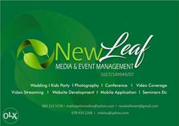 New Leaf media and events management
