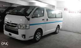 New shape petrol hiace auto
