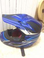 Almost new Motorbike Helmet