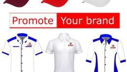 brand your shirts, embroindery, uniforms, umbrellas and supply