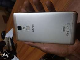 Note 3 infinix with fingerprint