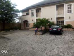 Extreme beautiful semi detached 4 bedroom Duplex wit 1Rm BQ. at GRA