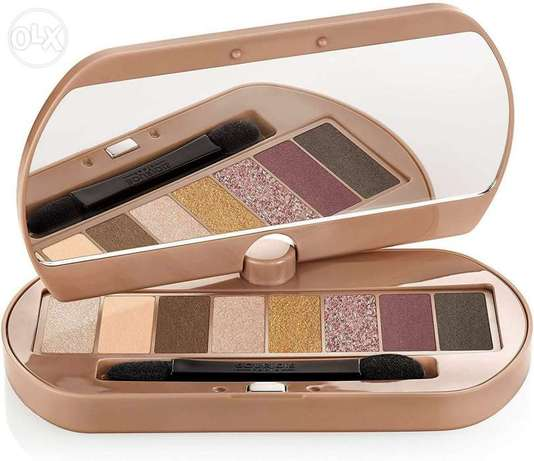 Nude eye catching palette