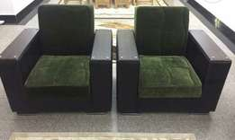 Two Turkish convertible chairs