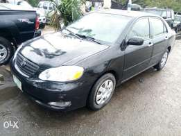 Firstbody Registered 2006 Toyota Corolla LE For N1.350M