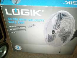 Logik high velocity wall fan