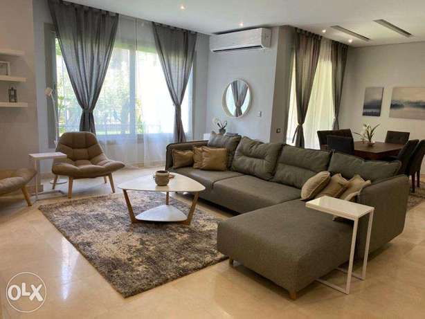 For Rent At Agood Price Ground Apartment in Compound The Village