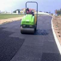 Tar surfaces and paving, (domestic and industrial)