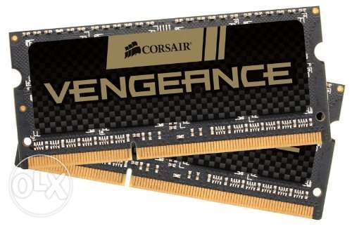 Corsair Vengeance 8GB (2x4GB) DDR3L 1600Mhz FOR Macbook Westlands - image 1