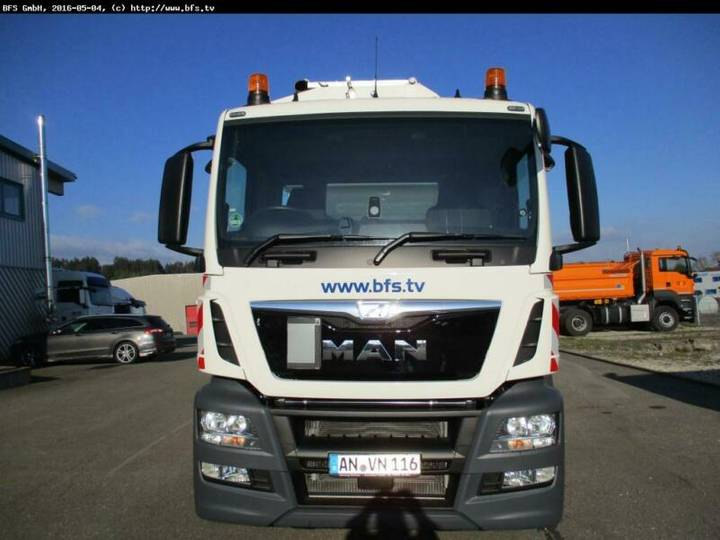 MAN TGS 26.360 6x2-2 LL Seitenlader HS Speedline 26 - 2016