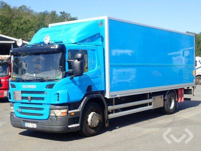 Scania P230LB MNB (export only) 4x2 Box (tail lift) - 08 - 2019