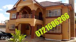 House for sale 5 bdrs, family room, vt room in kahawa sukari estate
