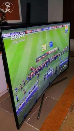 55inch Samsung Curved Smart Full HD LED-TV With Wi-Fi For Quick Sale Surulere - image 1