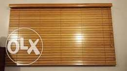 b wooden blind for home