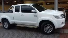 2012 Toyota Hilux Extracab 4x2 manual