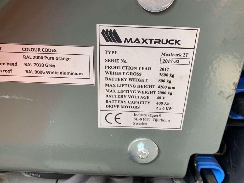 Maxtruck 2T Heftruck - 2017 - image 8