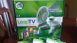 Leap TV Game Console With 3 Games For Sale