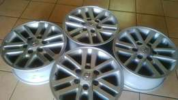 Brand new rims for Toyota hilux
