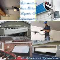 Garage door automations, installations and repairs