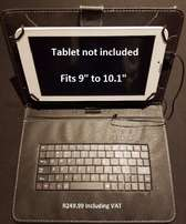 """Brand New Universal Tablet Flip Cover Keyboard for 9""""-10.1"""""""
