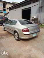 First body, slick used 2002 Peugeot 407, auto gear, ac, cd, leather.
